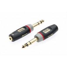 "QTY X1 3.5mm Mono Jack Socket to 6.35mm (1/4"") Mono Jack Plug XGA12"