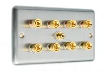 Stainless Steel - Raised - Solder