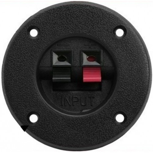 Speaker Chasis Back Plate Installation Kit Gold Pin